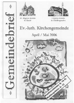 Gemeindebrief April/Mai 2006