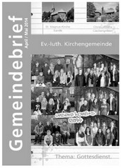 Gemeindebrief April/Mai 2014